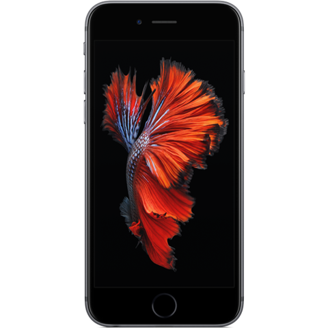 Apple iPhone 6s - Gris Sidéral - 128 GB - Écran 4.7'' - Occasion reconditionné - Grade Emerald