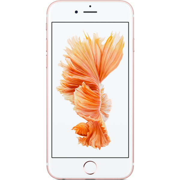Apple iPhone 6s - Or Rose - 128 GB - Écran 4.7'' - Occasion reconditionné - Grade Emerald
