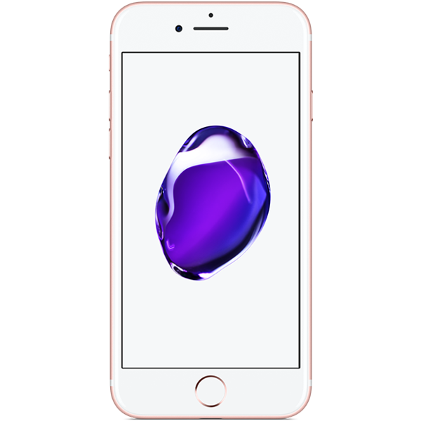 Apple iPhone 7 - Or Rose - 128 GB - Écran 4.7'' - Occasion reconditionné - Grade Sapphire