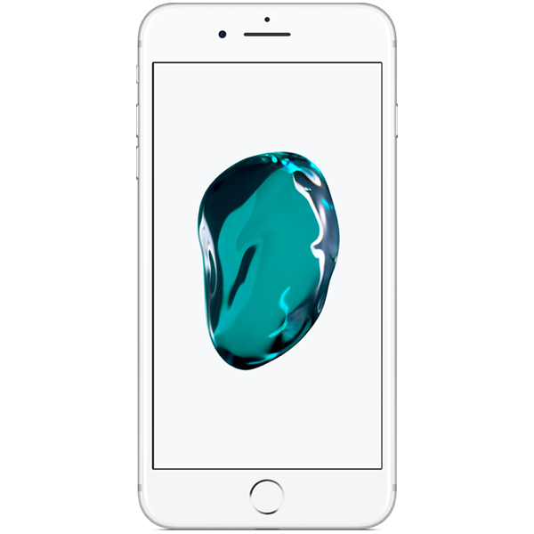 Apple iPhone 7 Plus - Argent - 128 GB - Écran 5.5'' - Occasion reconditionné - Grade Sapphire