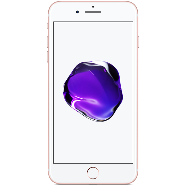 Apple iPhone 7 Plus - Or Rose - 32 GB - Écran 5.5'' - Occasion reconditionné - Grade Diamond