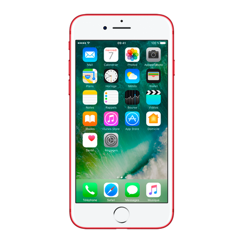 Apple iPhone 7 - Rouge - 128 GB - Écran 4.7'' - Occasion reconditionné - Grade Sapphire