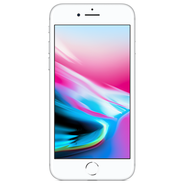 Apple iPhone 8 - Argent - 64 GB - Écran 4.7'' - Occasion reconditionné - Grade Diamond