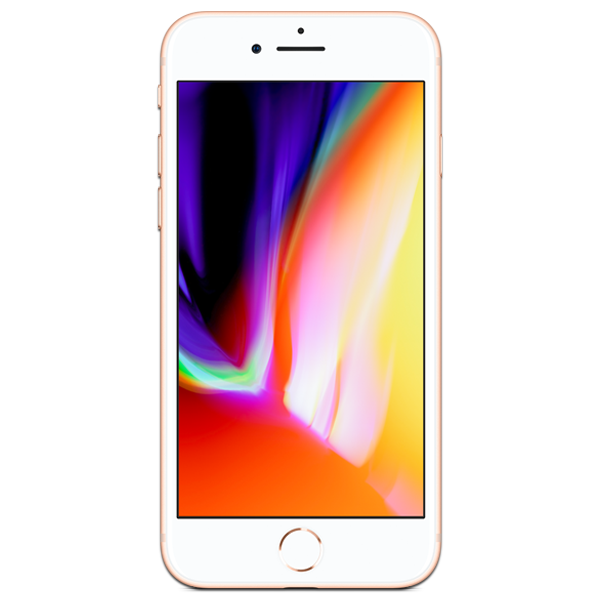 Apple iPhone 8 - Or - 64 GB - Écran 4.7'' - Occasion reconditionné - Grade Ruby