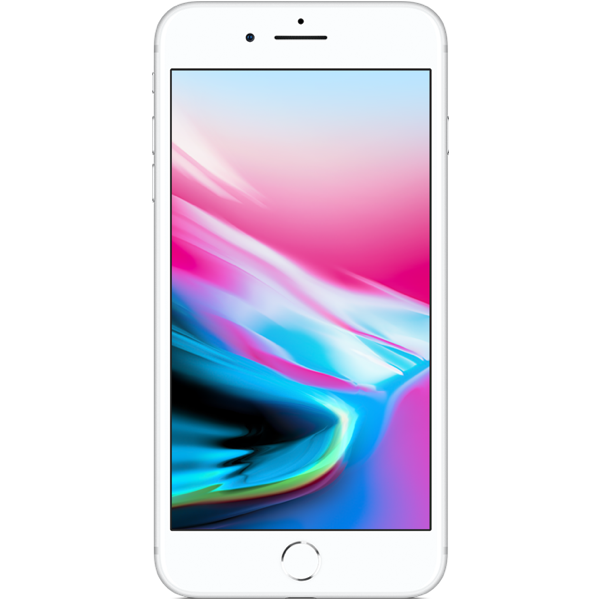 Apple iPhone 8 Plus - Argent - 64 GB - Écran 5.5'' - Occasion reconditionné - Grade Sapphire