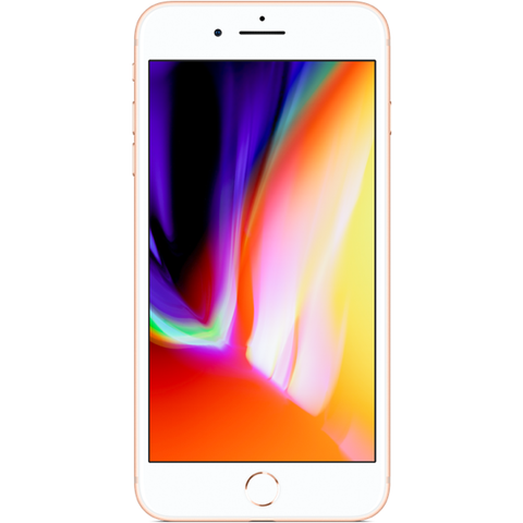Apple iPhone 8 Plus - Or - 256 GB - Écran 5.5'' - Occasion reconditionné - Grade Sapphire