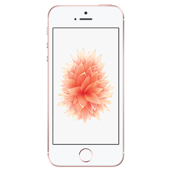 Apple iPhone SE - Or Rose - 16 GB - Écran 4.7'' - Occasion reconditionné - Grade Emerald