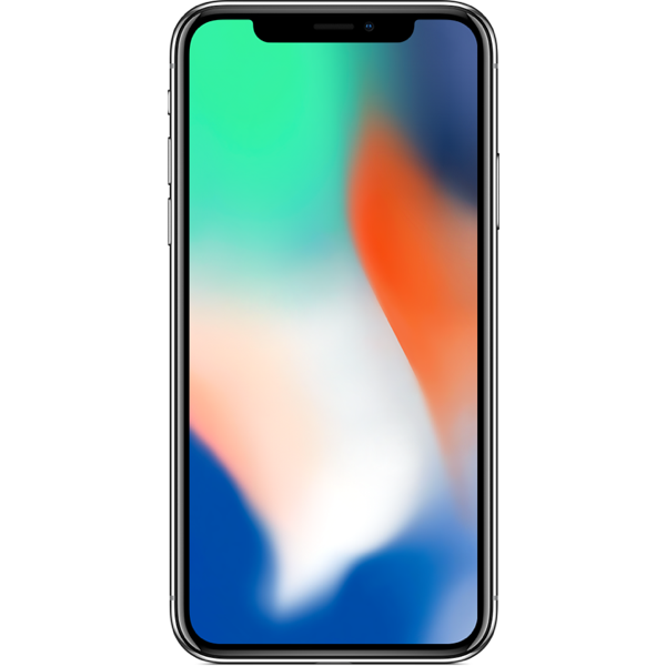 Apple iPhone X - Argent - 64 GB - Écran 5.8'' - Occasion reconditionné - Grade Sapphire