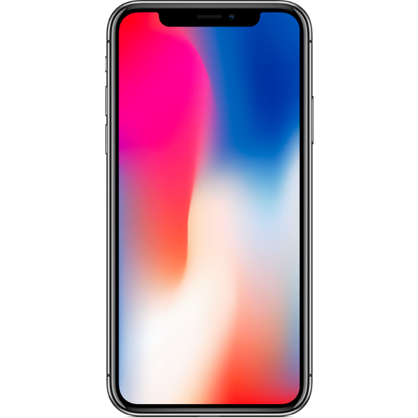Apple iPhone X - Gris Sidéral - 64 GB - Écran 5.8'' - Occasion reconditionné - Grade Ruby
