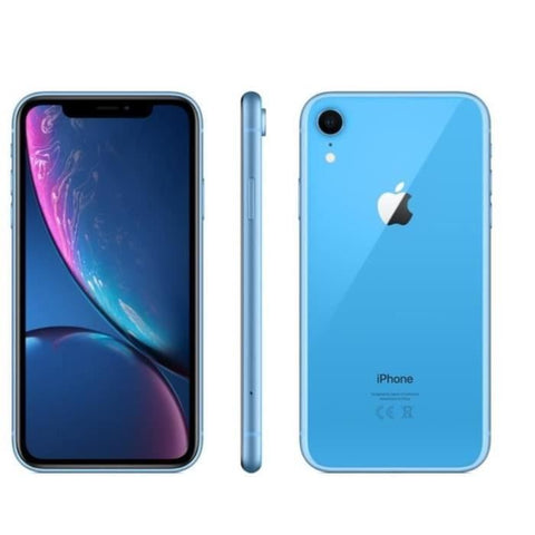 Apple iPhone XR - Bleu - 64 GB - Écran 6.1'' - Occasion reconditionné - Grade Diamond