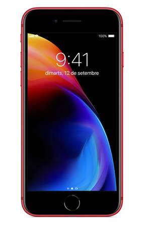 Apple iPhone 8 - Rouge - 64 GB - Écran 4.7'' - Occasion reconditionné - Grade Diamond