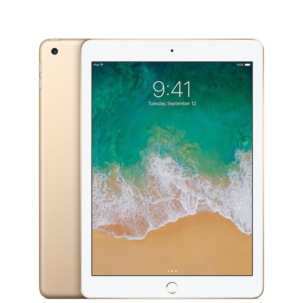 Apple iPad 5 Wi-Fi + Cellular - Or - 32 GB - Écran 7.9'' - Occasion reconditionné - Grade Diamond
