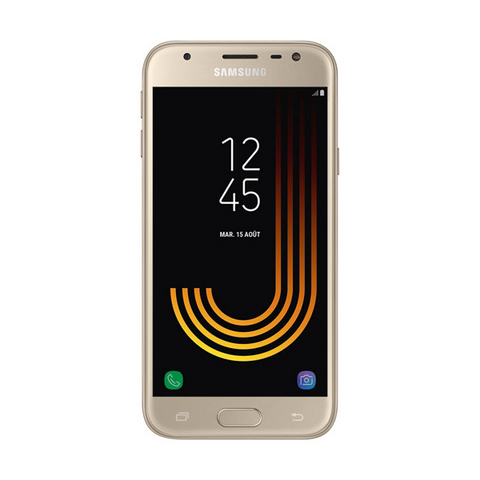 Samsung Galaxy J3 (SM-J330F) Or - 16 GB - Écran 5'' - Neuf d'origine