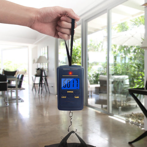 40kg x 10g Mini Digital Scale for Fishing and Luggage
