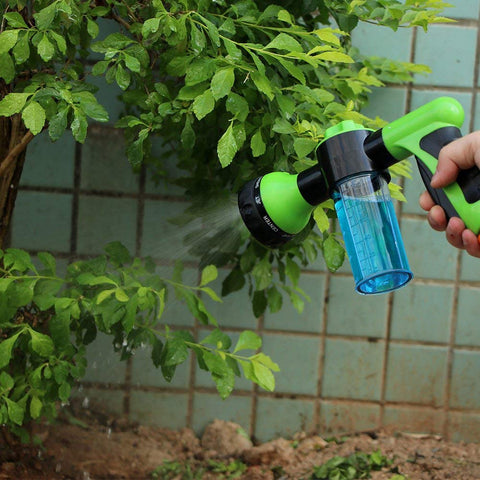 Green Multifunctional High Pressure Water Foam Spray Gun