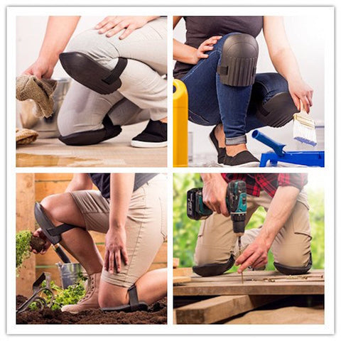 Image of Soft Foam Knee Pads - Perfect Protection for Gardening and Building Projects