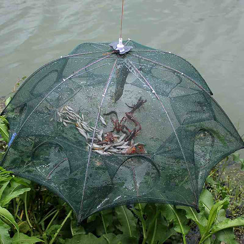 Automatic Folding Fishing Trap - 4-20 Holes