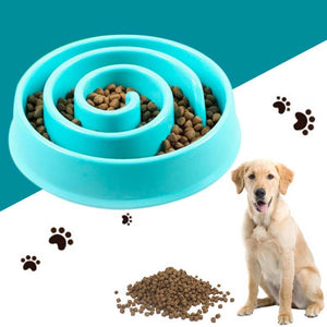 Slow Food Bowl For Cats & Dogs