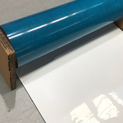 Magnetic & Whiteboard Front with Adhesive Rear (300mm Wide - Roll)