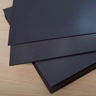 Sheet - Raw Plain Blank - A4 x 0.4mm (1 Per Pack)