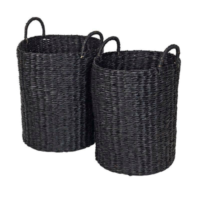 Black Luxe Basket set/2