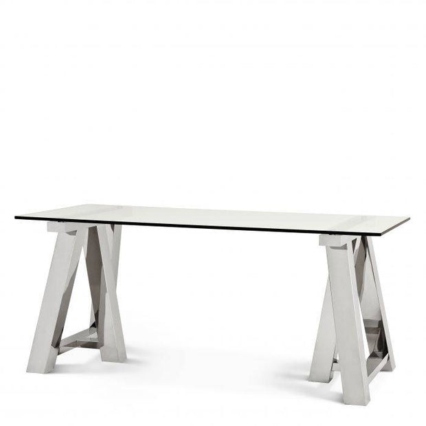 Marathon Glass Dining Table  180 cm
