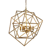 Lantern Matrix Vintage Brass