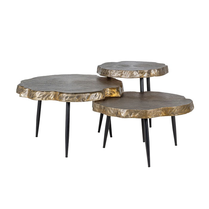 Coffee table Buloke set of 3