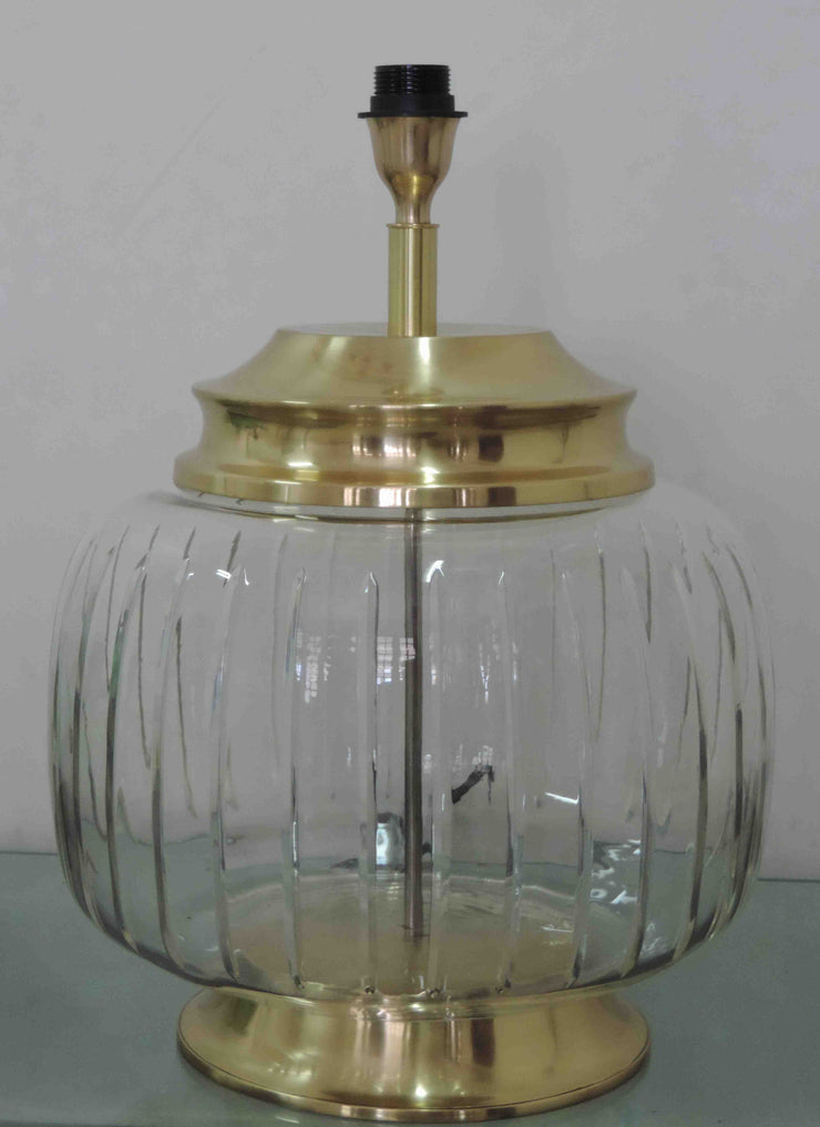 Bordlampe Hamilton Glass/Gull
