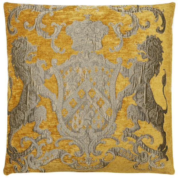 Cushion Fiori Yellow/Gold