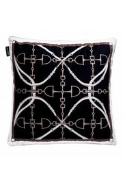 Cushion Luxury Black - style bite
