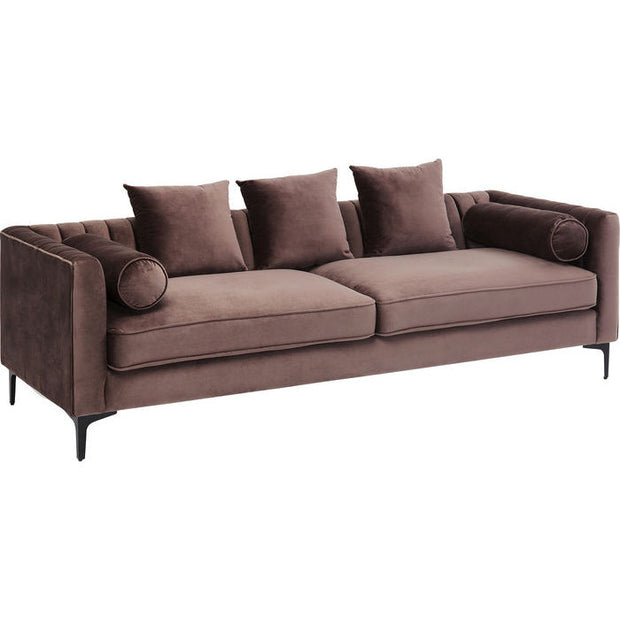 Sofa Awalton Brun Velour INTROTILBUD