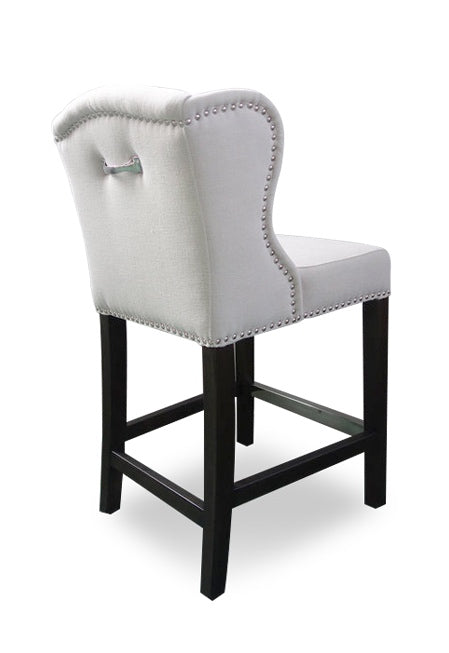 Deluxe Bar Chair Beige Linen