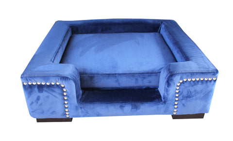 Animal Bed Deluxe Blue