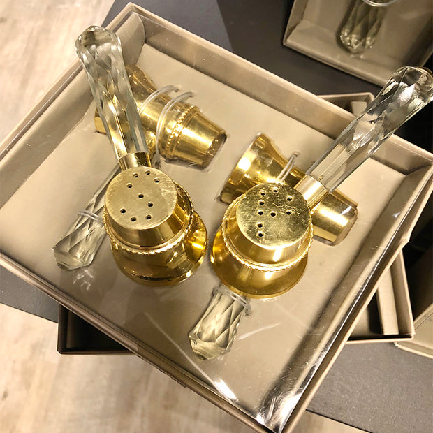 Luxe Salt/Pepper Gold SPAR 110,-