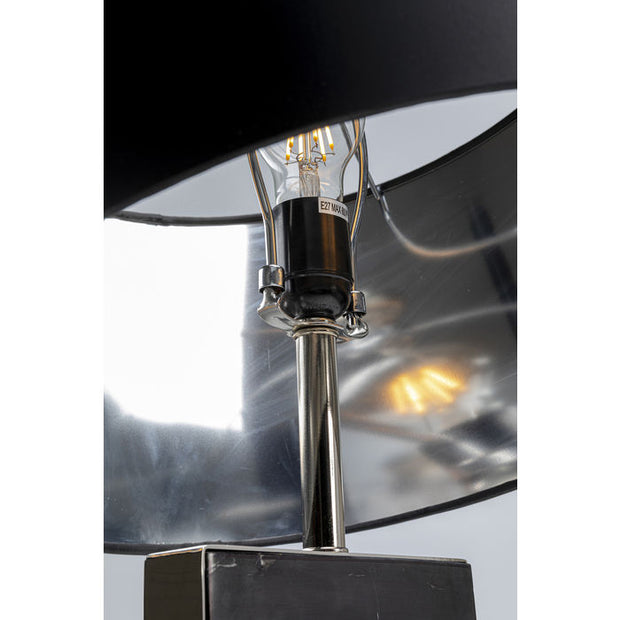 Table Lamp Marble Black 69 cm