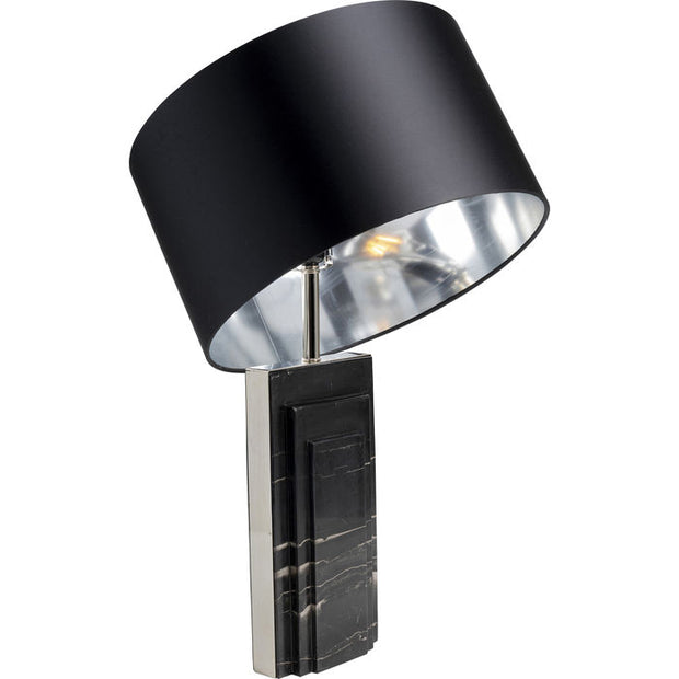 Table Lamp Marble Black