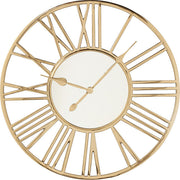 Wall Clock Gold color