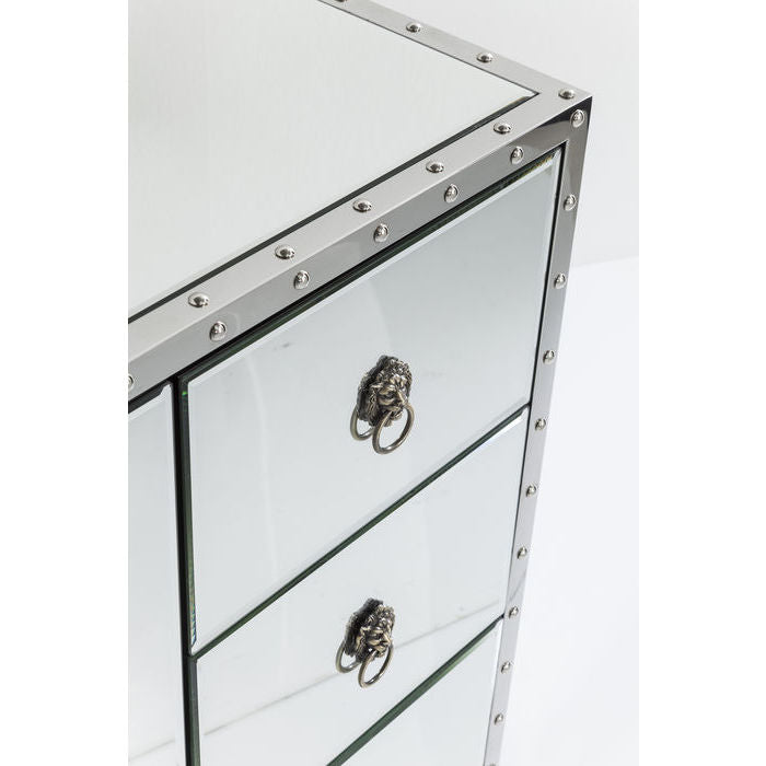 TV-Bord Rivet Glam 130 cm