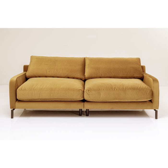 Discovery 2-seter Sofa Amber Velour