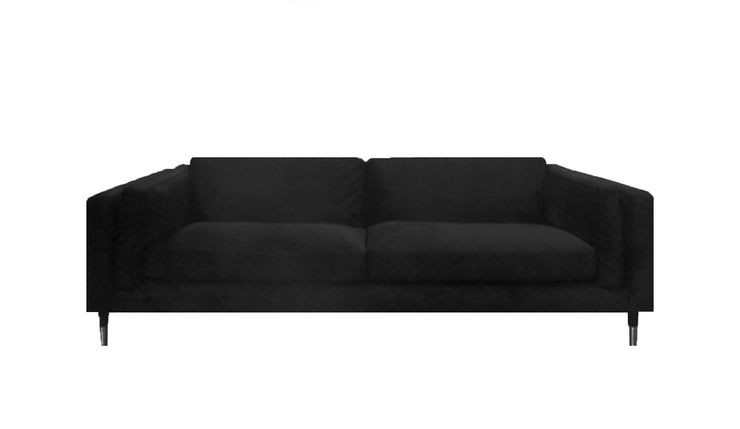 Bostonia Sofa Sort Velour