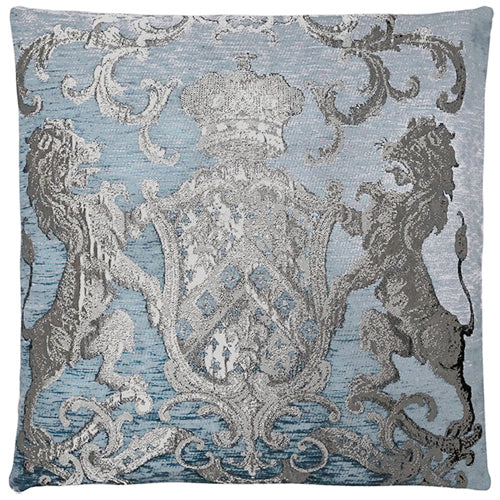 Cushion Fiori Charcoal Grey