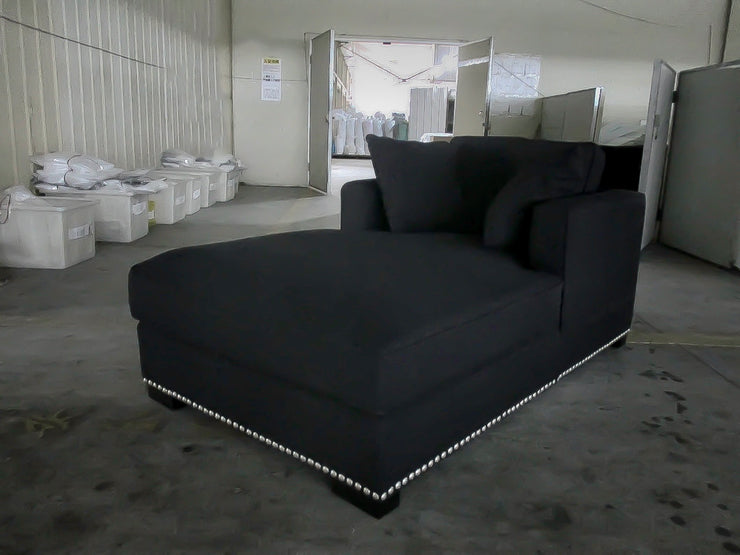 Magnolia Daybed Black Linen