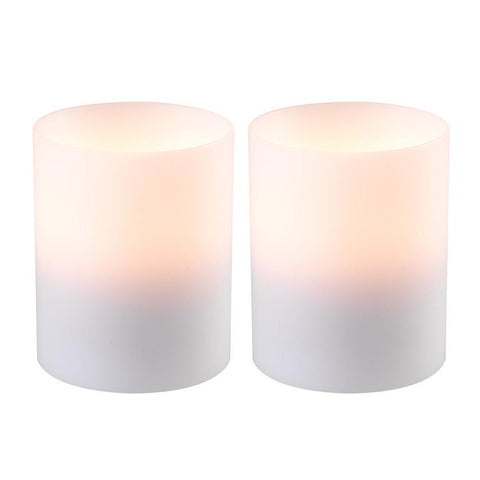 Candle Holder Deluxe White Small