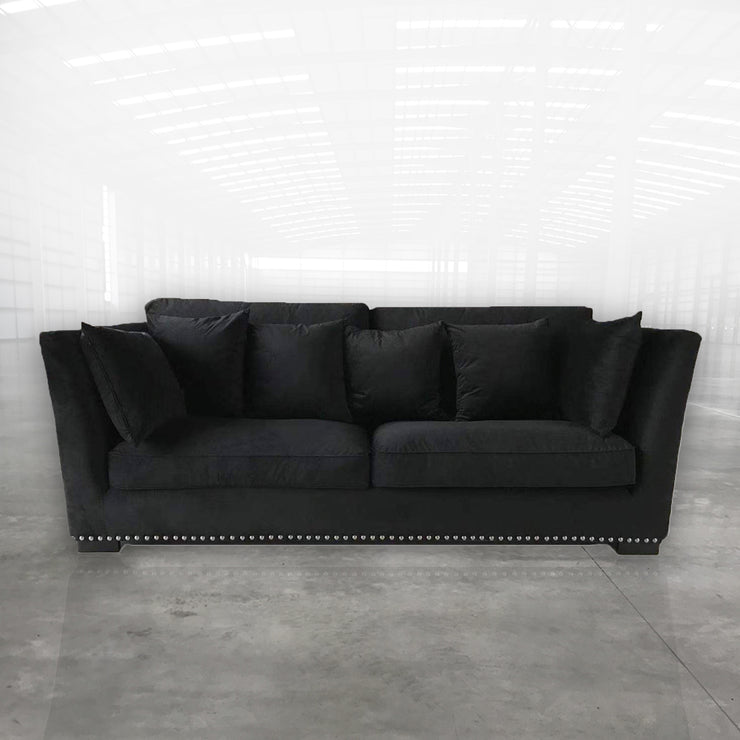 Eileen Sofa Sort Velour