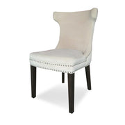 Fellini Dining Chair Beige Velvet