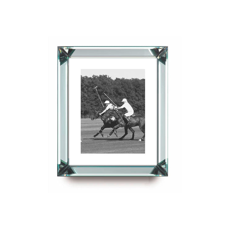 Polo Players Mirror Frame