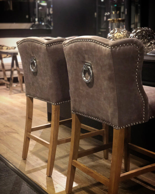 Luxury BarChair Brown Pellini