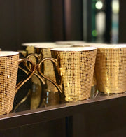 Gold Luxe Coffee Cup