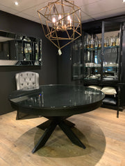 Dining Table Hampton 150cm med utrekk av ileggsplate
